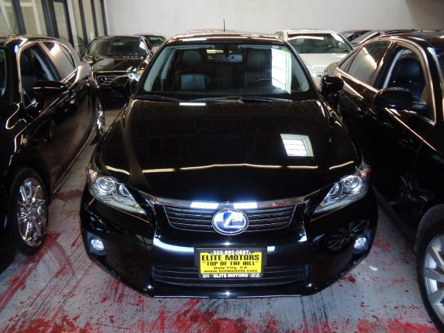 2013 LEXUS CT 200H BASE 4DR HATCHBACK black navigation heated seats backup camera bluetooth rea