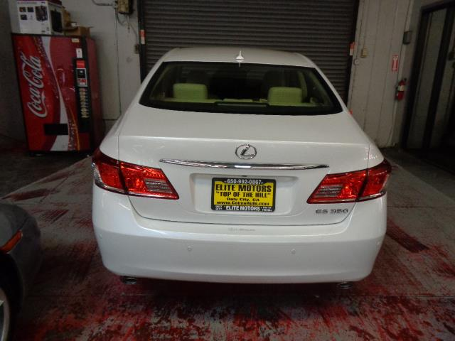 2011 LEXUS ES 350 BASE 4DR SEDAN starfire pearl navigation backup camera heated seats body side