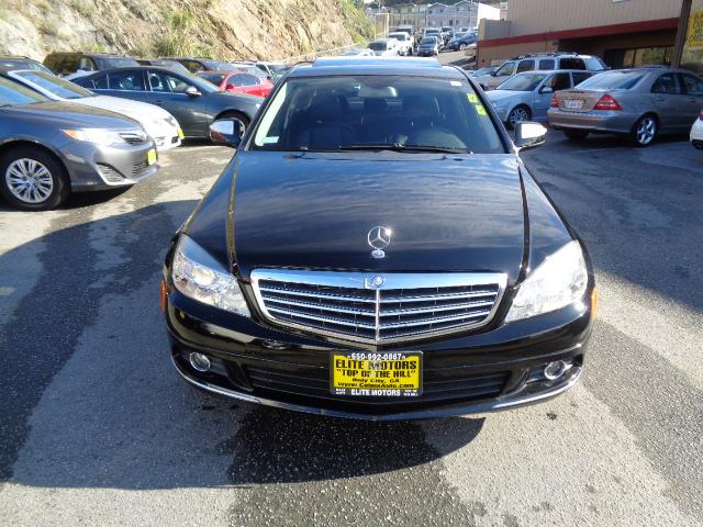 2008 MERCEDES-BENZ C-CLASS C300 LUXURY SEDAN black 64112 miles VIN WDDGF54X08F106187