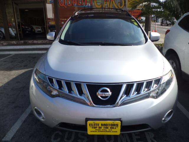 2009 NISSAN MURANO S SPORT UTILITY 4D brilliant silver metallic panoramic roof back-up camera fu