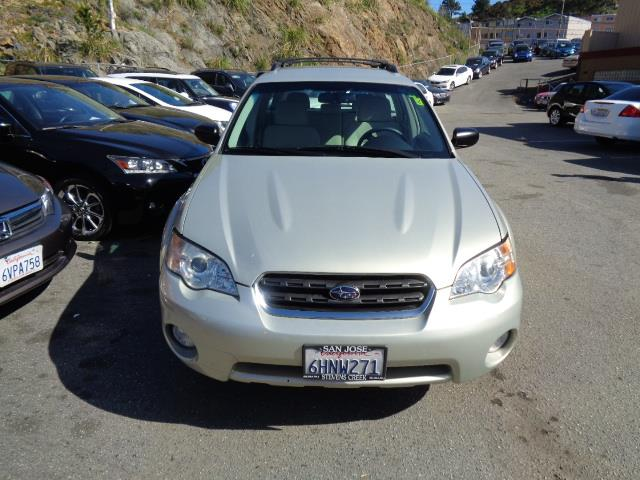 2007 SUBARU OUTBACK 25I WAGON champagne gold opal 65787 miles VIN 4S4BP61C677334563