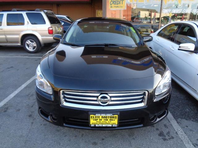 2013 NISSAN MAXIMA 35 S 4DR SEDAN black door handle color - chromeexhaust - dual exhaust tipsex