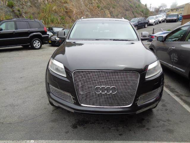 2007 AUDI Q7 36 PREMIUM QUATTRO AWD 4DR SUV graphite grey panorama roof navigation 3rd seat re