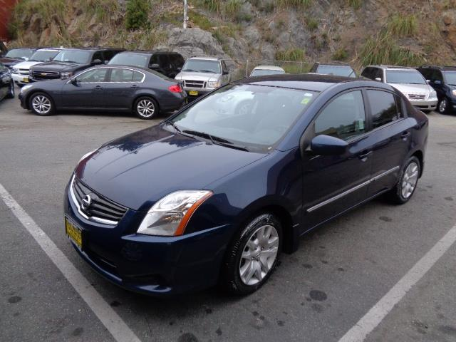 2012 NISSAN SENTRA S SEDAN midnight blue 55981 miles VIN 3N1AB6AP6CL776477