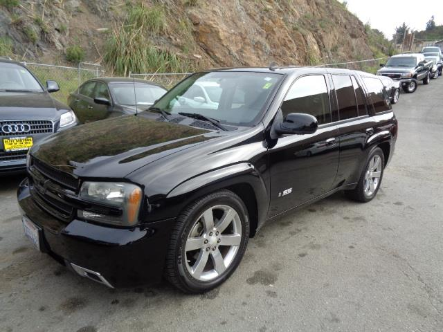 2008 CHEVROLET TRAILBLAZER SS black leather moon roof upgraded suspension custom exhaust dvd s
