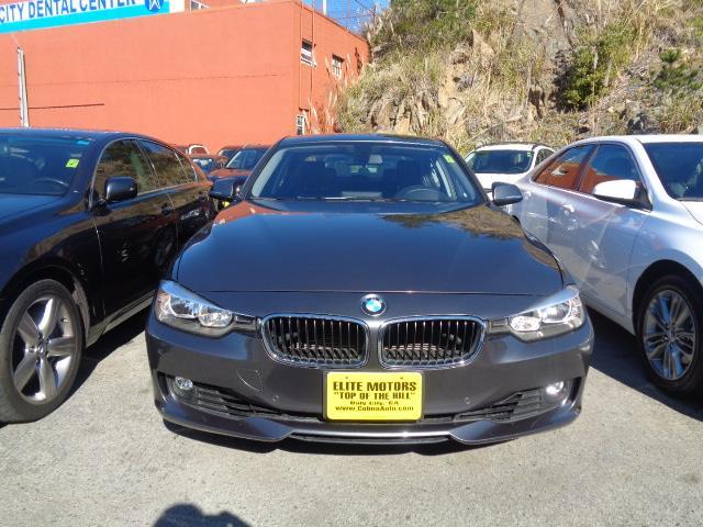 2012 BMW 3 SERIES 328I 4DR SEDAN SULEV gray heads up display navigation child safety door locks