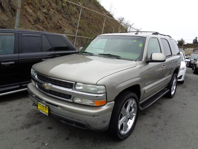 2003 CHEVROLET TAHOE LS 4WD 4DR SUV pewter running boardsskid platesfront air conditioningfront