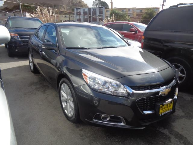 2014 CHEVROLET MALIBU LT 4DR SEDAN W2LT graphite grey door handle color - body-colorfront bumpe