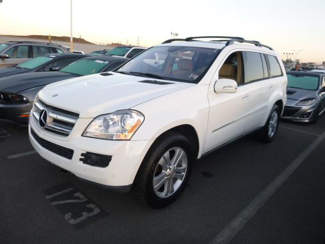 2007 MERCEDES-BENZ GL-CLASS GL450 AWD 4MATIC 4DR SUV arctic white rear spoilerair filtrationcen
