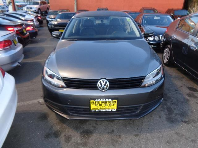 2012 VOLKSWAGEN JETTA SE SEDAN platinum silver metallic leather heated seats 25571 miles VIN