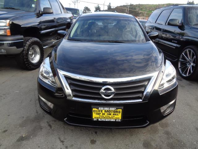 2013 NISSAN ALTIMA 25 S 4DR SEDAN black body side moldingdoor handle color - chromeexhaust - du
