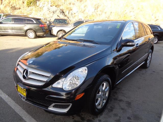 2007 MERCEDES-BENZ R-CLASS R350 AWD 4MATIC 4DR WAGON black air filtrationcenter console trim - a