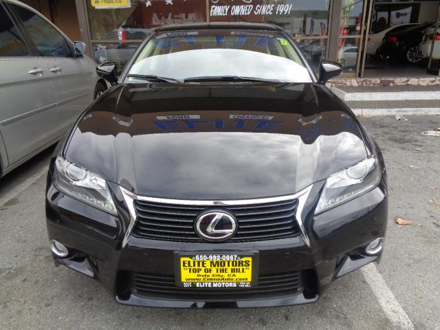 2013 LEXUS GS 350 BASE 4DR SEDAN black exhaust - dual exhaust tipsexhaust tip color - stainless-