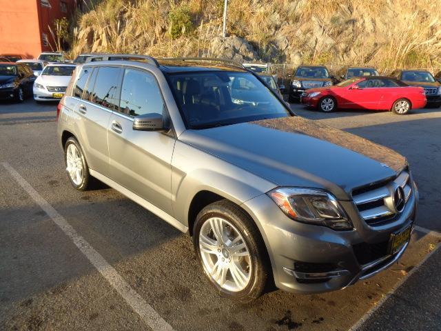 2013 MERCEDES-BENZ GLK GLK350 4DR SUV palladium silver metallic navigation heated seats navigati