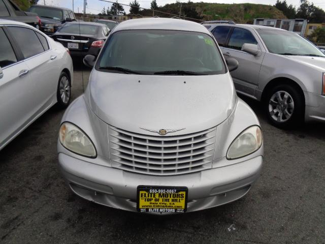 2003 CHRYSLER PT CRUISER TOURING EDITION 4DR WAGON silver special factory paintspecial graphicsf