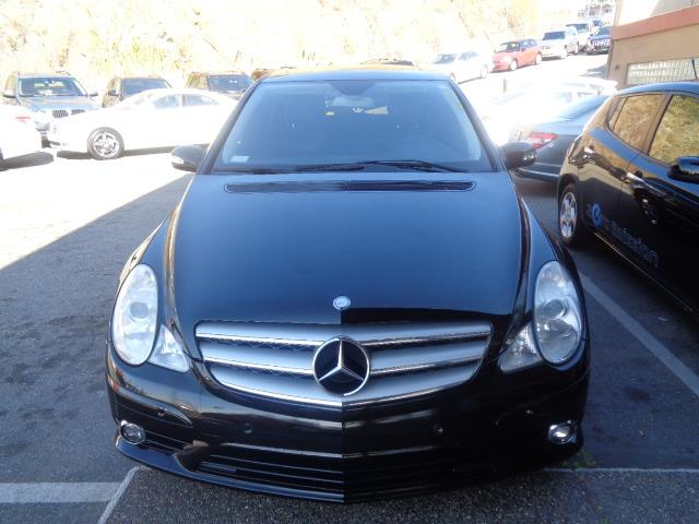 2008 MERCEDES-BENZ R-CLASS R350 4DR WAGON black navigation leather 79945 miles VIN 4JGCB56E68