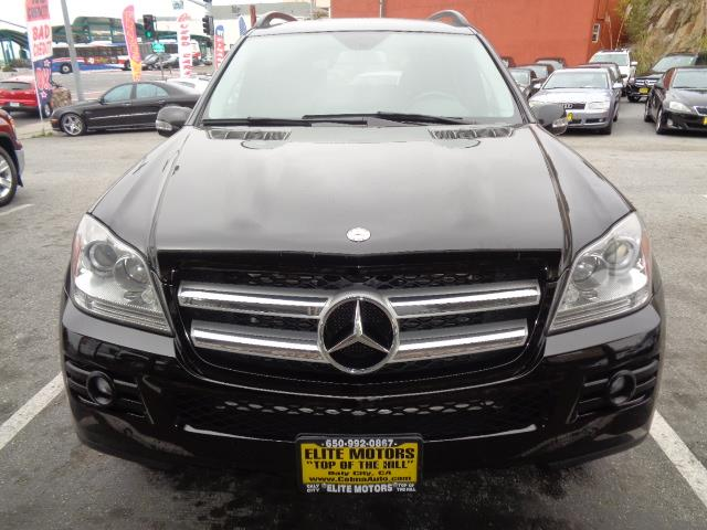 2008 MERCEDES-BENZ GL-CLASS GL450 AWD 4MATIC 4DR SUV black navigation panoramic roof great fami