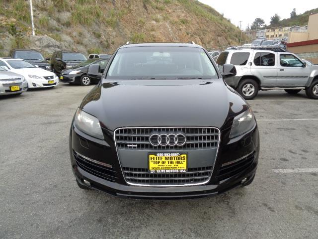2008 AUDI Q7 36 PREMIUM QUATTRO AWD 4DR SUV black navigation heated seats panorama roof front g