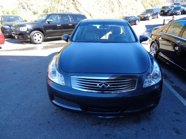 2007 INFINITI G35 JOURNEY 4DR SEDAN 35L V6 5A blue slate pearl grille color - chromepainted s
