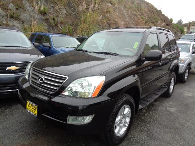 2006 LEXUS GX 470 BASE 4DR SUV 4WD black navigation heated seats 4wd dvd grille color - chrome