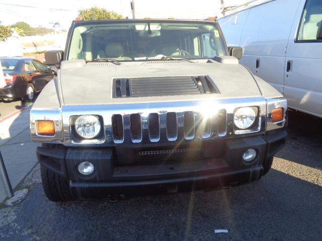 2003 HUMMER H2 SUV black child safety door locks power door locks vehicle anti-theft 4wd awd