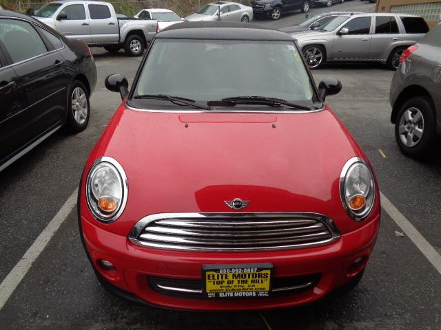 2012 MINI COOPER HARDTOP BASE 2DR HATCHBACK chili red bumper color - body-colorexhaust tip color