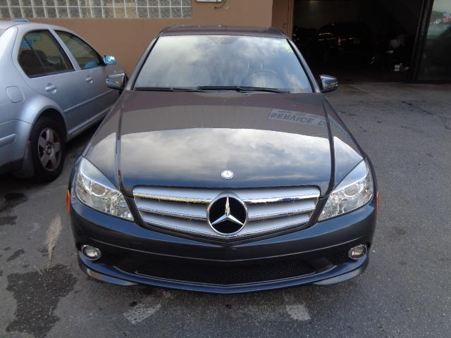 2010 MERCEDES-BENZ C-CLASS C350 SPORT 4DR SEDAN palladium metallic capri blue metallic paintchro