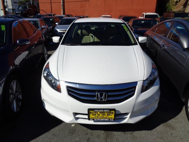 2012 HONDA ACCORD SE 4DR SEDAN white special edition leather heated seats bumper color - body-c