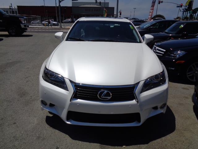 2013 LEXUS GS 350 BASE 4DR SEDAN starfire pearl exhaust - dual exhaust tipsexhaust tip color - s