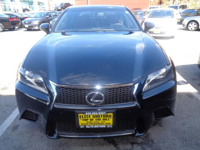 2013 LEXUS GS 350 BASE 4DR SEDAN black navigation f sport exhaust - dual exhaust tipsexhaust t