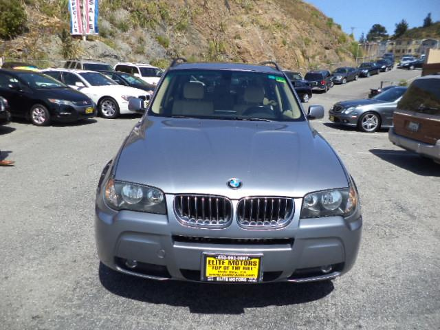 2006 BMW X3 30I AWD 4DR SUV silver grey metallic navigation heated seats panorama roof air filt
