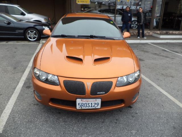2006 PONTIAC GTO BASE 2DR COUPE brazen orange metallic 1-owner local car ultra rare brazen orange