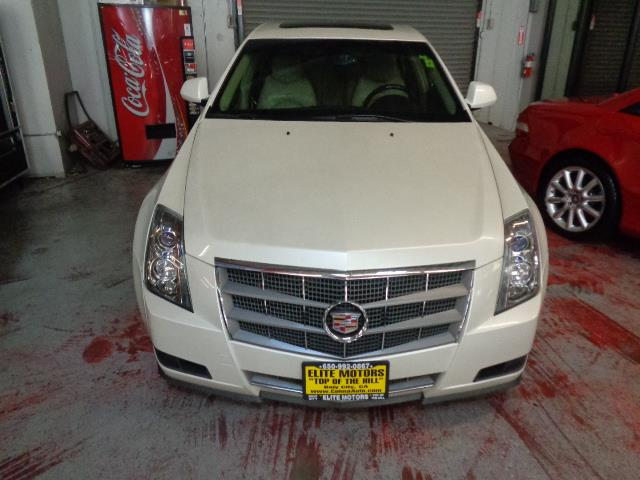 2009 CADILLAC CTS 36L DI AWD 4DR SEDAN W AUTO H white diamond metallic leather navigation pa