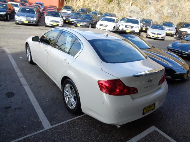 2010 INFINITI G37 SEDAN JOURNEY SEDAN moonlight white technology package navigation heated seats