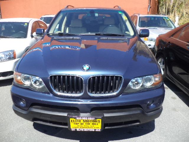 2006 BMW X5 30I AWD 4DR SUV toledo blue metallic panaramic sunroof awd great suv air filtration