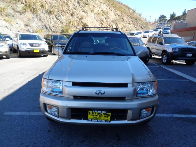 2001 INFINITI QX4 BASE 2WD 4DR SUV tuscan beige heated seats moon roof  running boardsskid plate