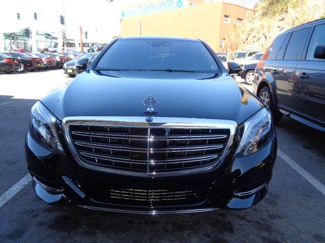 2016 MERCEDES-BENZ S-CLASS MERCEDES-MAYBACH S600 4DR SEDAN obsidian black metallic black exclusiv