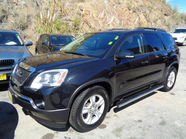 2008 GMC ACADIA SLT-2 AWD 4DR SUV black granite navigation leather dvd dual moon roofs rear sp
