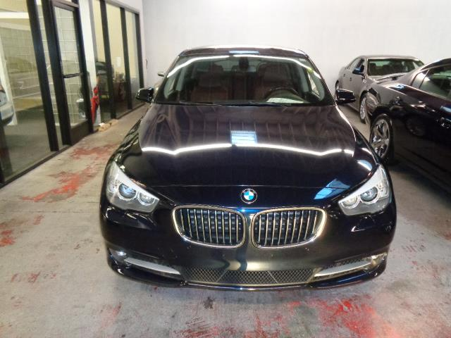 2012 BMW 5 SERIES 535I GRAN TURISMO 4DR HATCHBACK imperial blue metallic warranty premium package