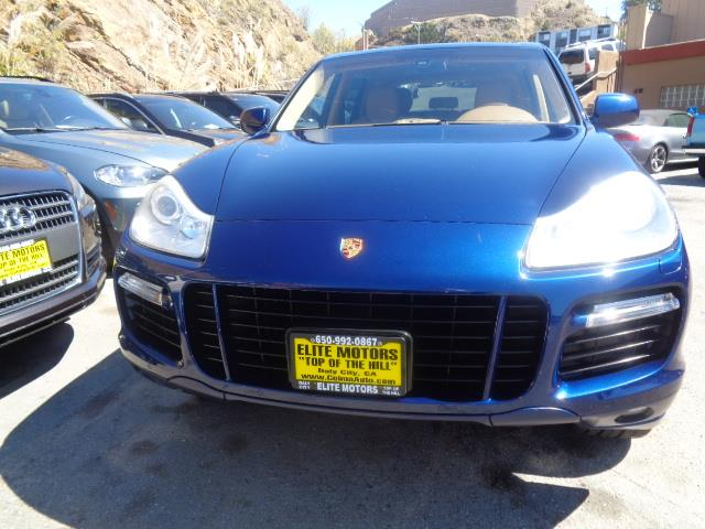 2008 PORSCHE CAYENNE GTS AWD 4DR SUV marine blue metalic leather navigation system sun roof 65
