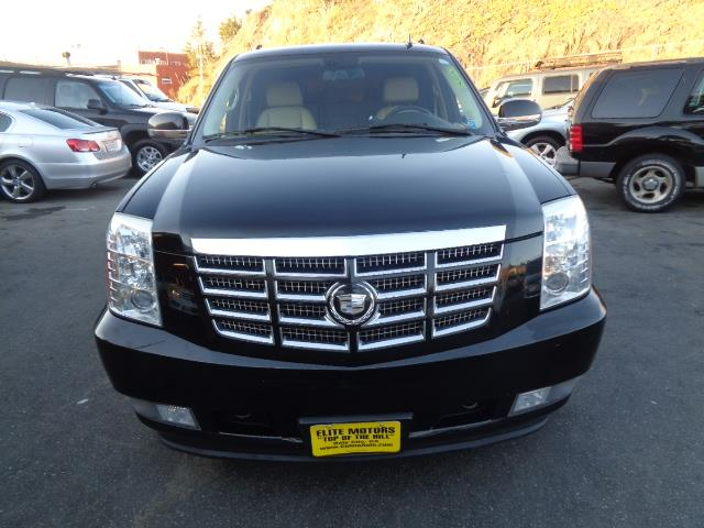 2008 CADILLAC ESCALADE ESV BASE AWD 4DR SUV black navigation dvd 8 passenger with bench seat i