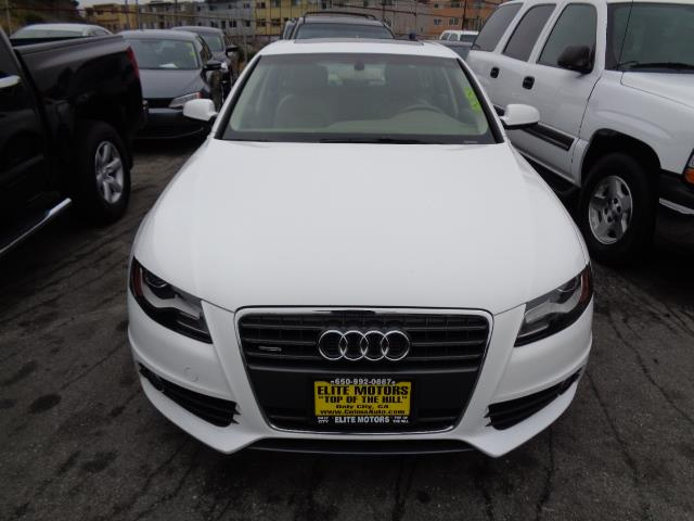 2012 AUDI A4 20T QUATTRO PREMIUM PLUS AWD 4D ibis white s line package premium plus navigation