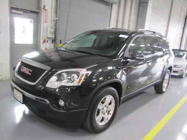 2009 GMC ACADIA SLT-2 4DR SUV metallic black body side moldings - body-colordoor handle color -