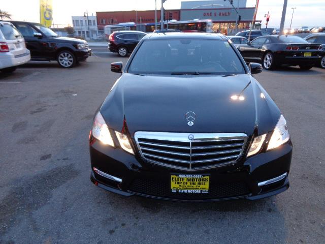 2013 MERCEDES-BENZ E-CLASS E350 SPORT 4DR SEDAN black warranty sport package navigation amg whe