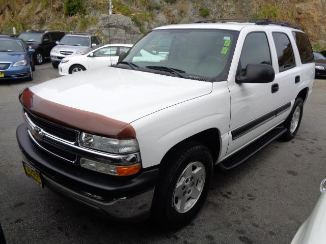 2004 CHEVROLET TAHOE LT white leather 3rd seat 143156 miles VIN 1GNEC13V04J263140
