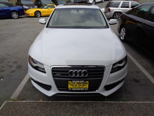2012 AUDI A4 20T PREMIUM PLUS 4DR SEDAN suzuka grey s-line package with navigation heated seats