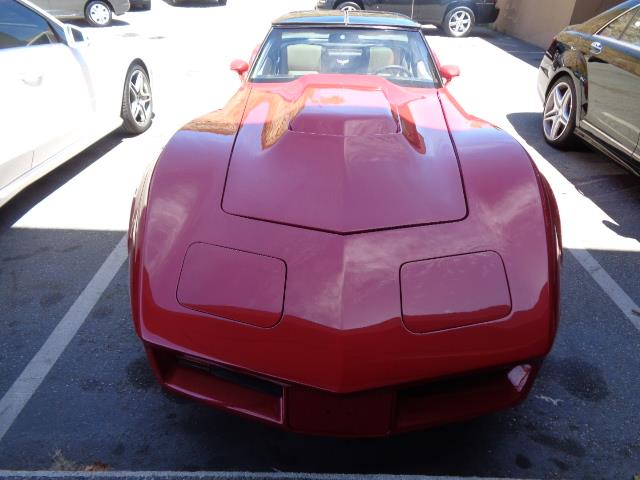 1978 CHEVROLET CORVETTE cherry red 66890 miles VIN 00001Z87L8S401553