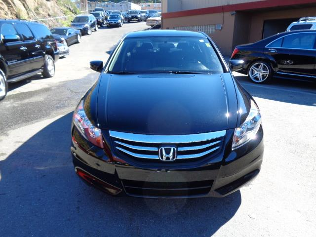 2012 HONDA ACCORD SE 4DR SEDAN black special edition heated seats leather bumper color - body-co