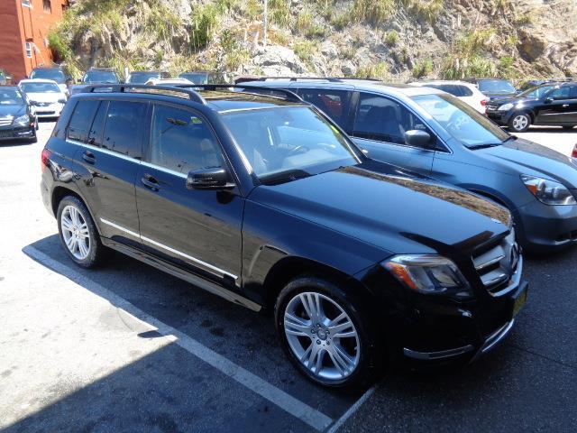 2013 MERCEDES-BENZ GLK-CLASS GLK350 4MATIC AWD 4DR SUV black bumper color - body-colorchrome acc