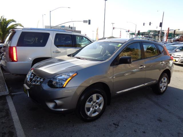 2014 NISSAN ROGUE SELECT S 4DR CROSSOVER polished metal metallic rear spoiler - rooflinebody sid